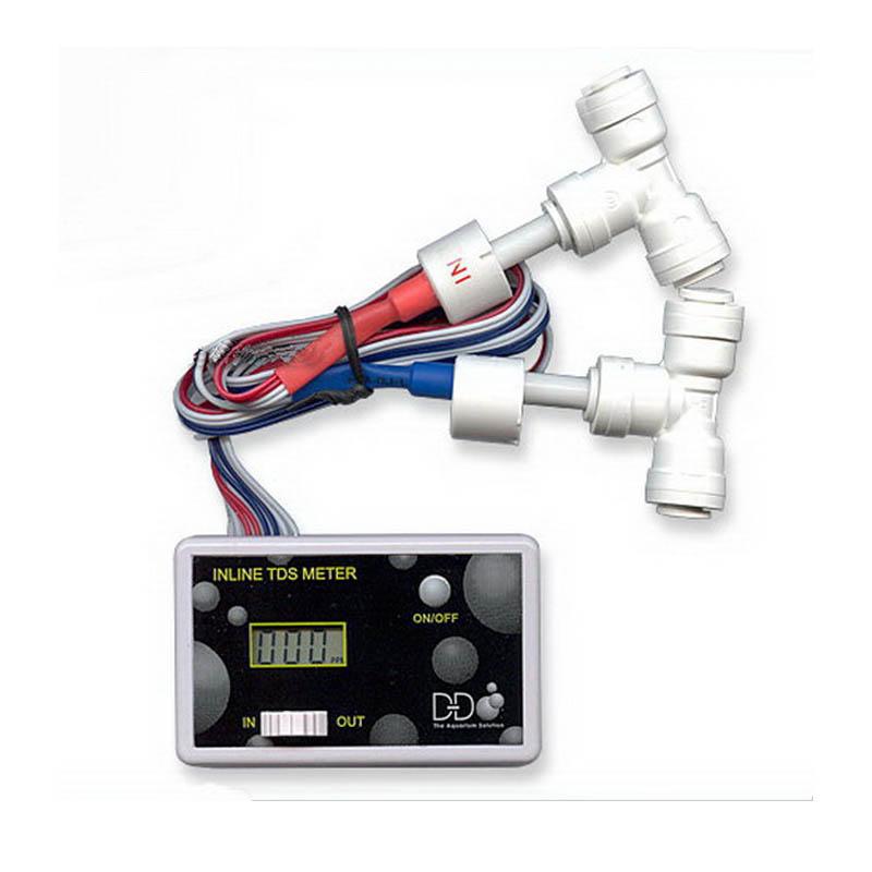 In Line Conductivity Meter : D in line tds meter reef gems