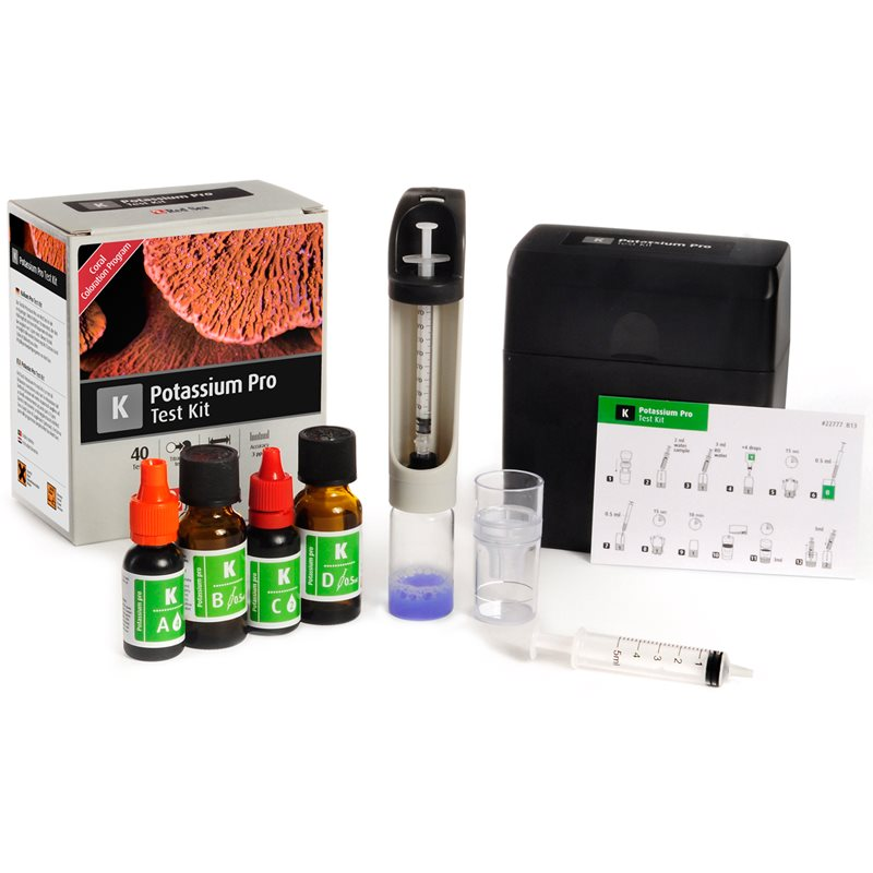 red sea marine care test kit instructions
